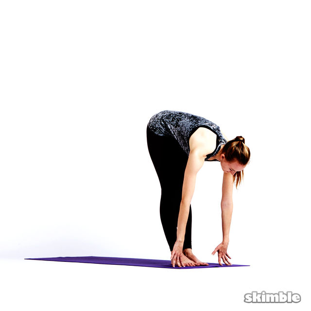 How to do: Step or Hop to Plank - Step 4