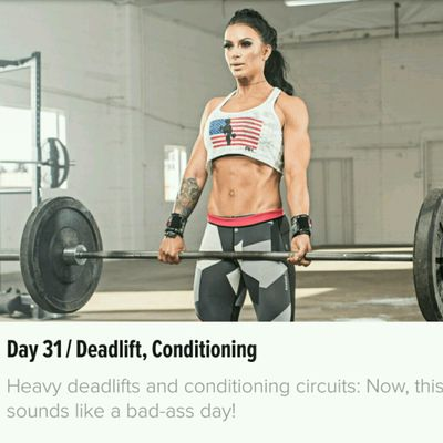 Charlie Mike: Day 31 - Deadlift, Metabolic Conditioning