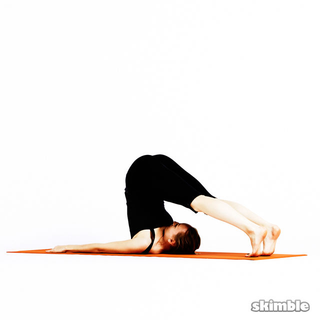 How to do: Plow Pose - Step 5
