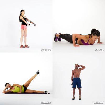 Mixed Workouts: Body & Dumbbells