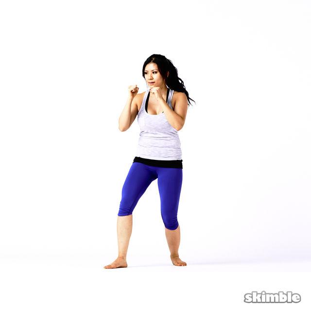 How to do: Left Side Kicks - Step 4
