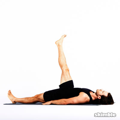 core and glute kicks