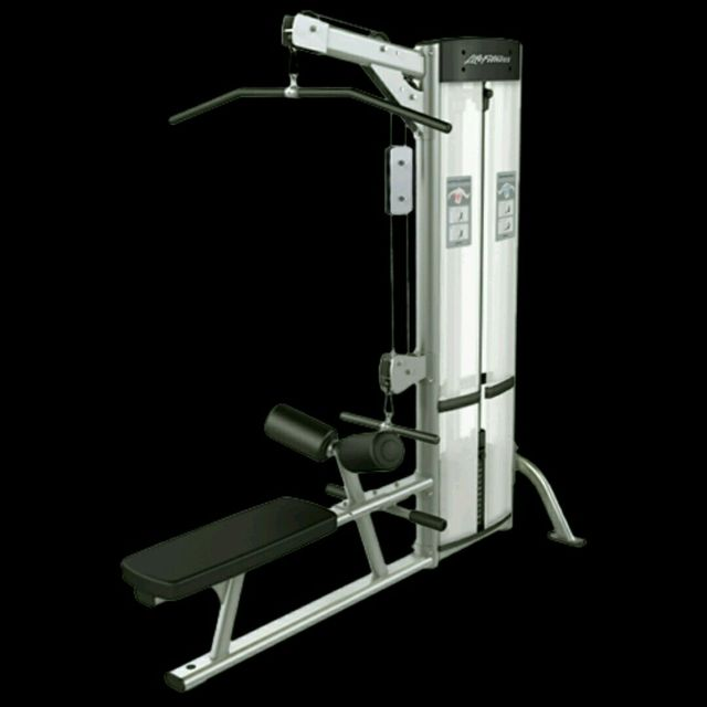 How to do: Lat Pull Down - Step 1