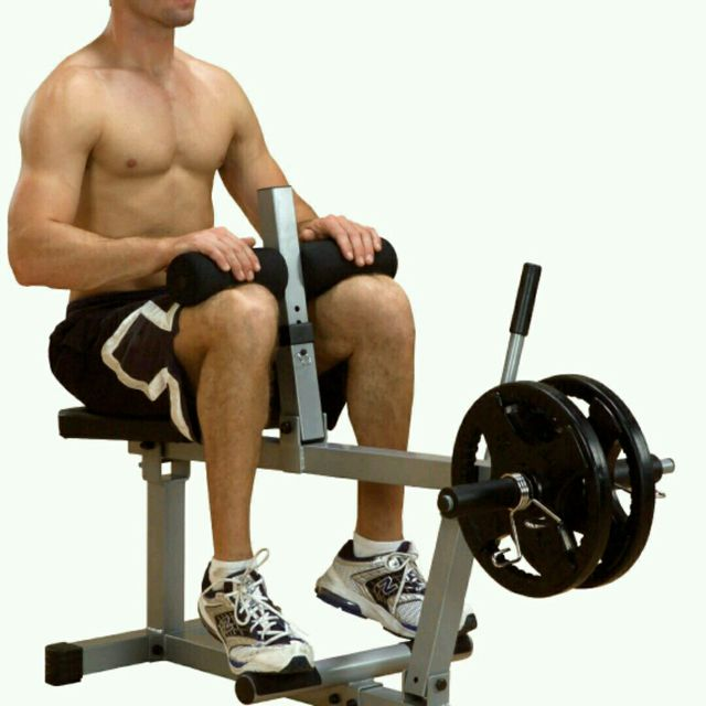 How to do: Calf Machine - Step 1