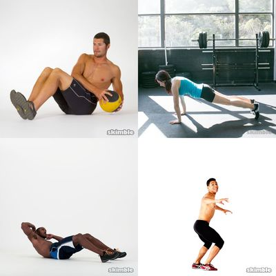 Ali workout list