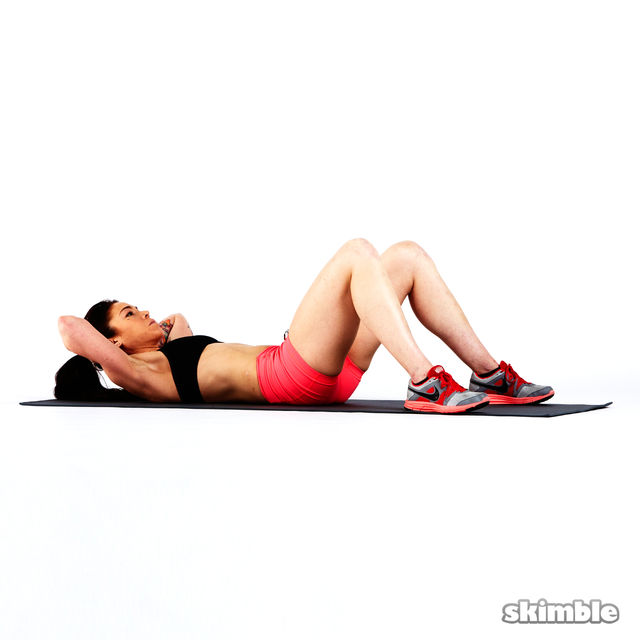 How to do: Max Rep Crunches - Step 4