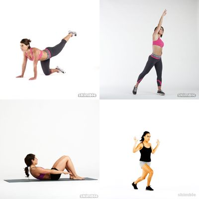 Mphoentle's workout