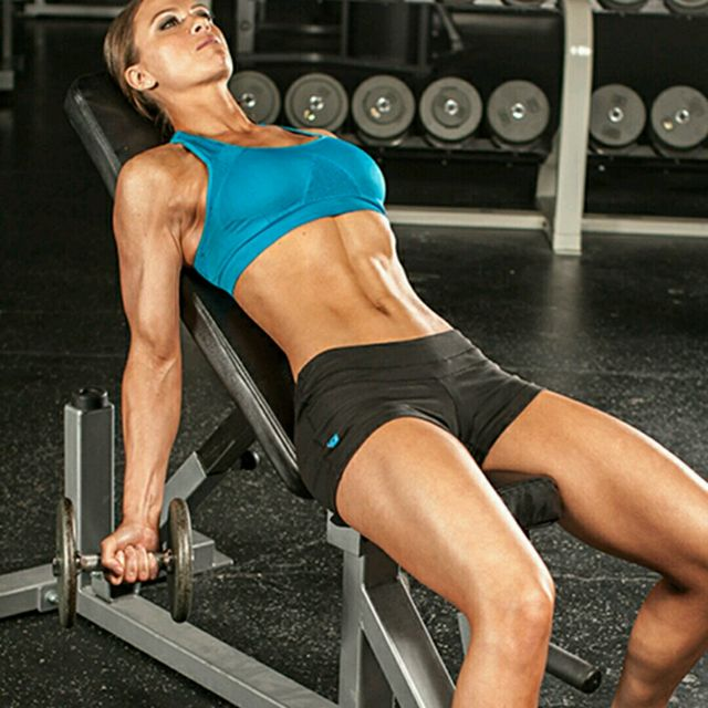 How to do: Incline Dumbbel Curl - Step 1