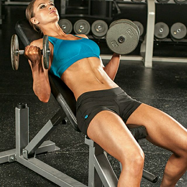 How to do: Incline Dumbbel Curl - Step 2