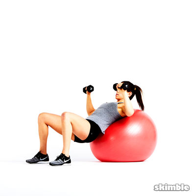 Test Your Chest with a Ball 