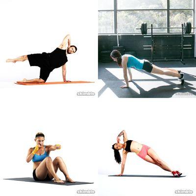 Exercícios abdômen