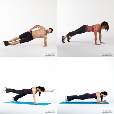 push ups and planks