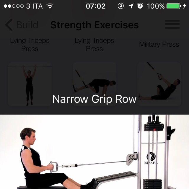 How to do: Narow Grip Row - Step 1