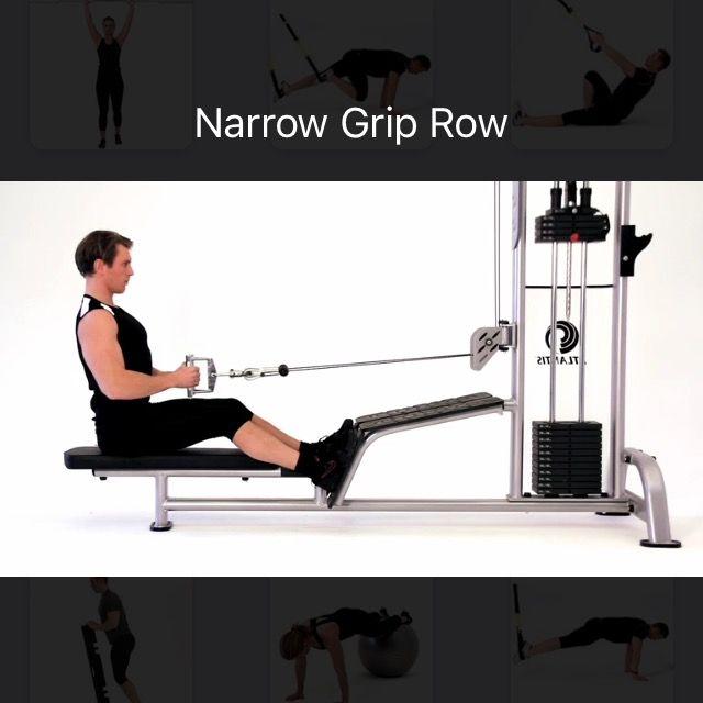 How to do: Narow Grip Row - Step 2
