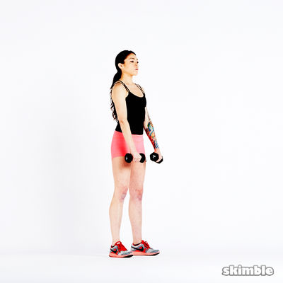 Dumbbell V-Raises
