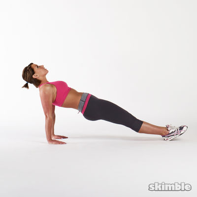 Upward Plank With Leg Lifts