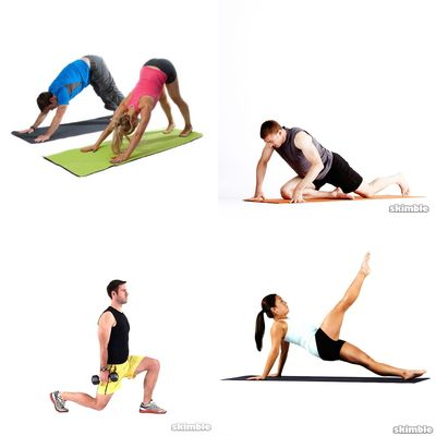 yoga + exercises