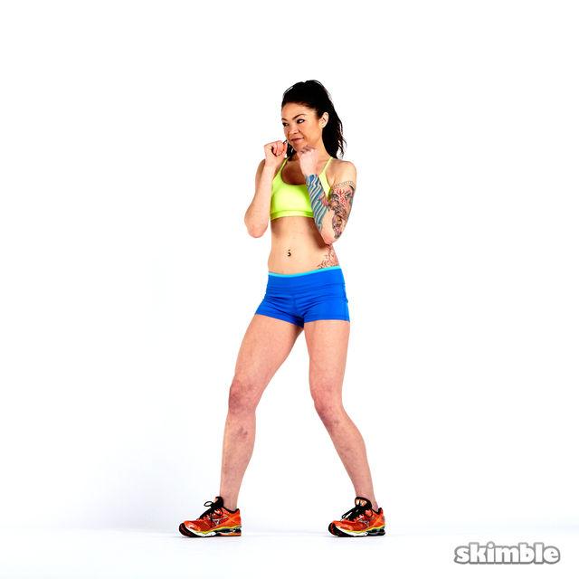 How to do: Left Hooks - Step 3
