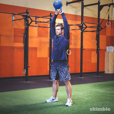 Total Body Workout With Kettlebell And More