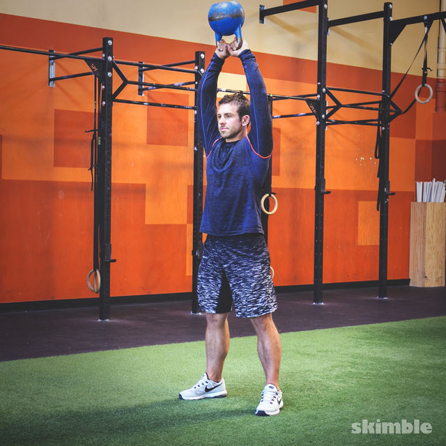 How to do: Kettlebell Swings - Step 4