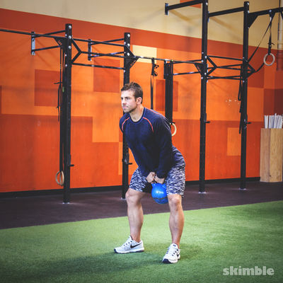 Kettlebell or Dumbbell Swings