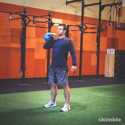 Kettlebell Shoulder Blast