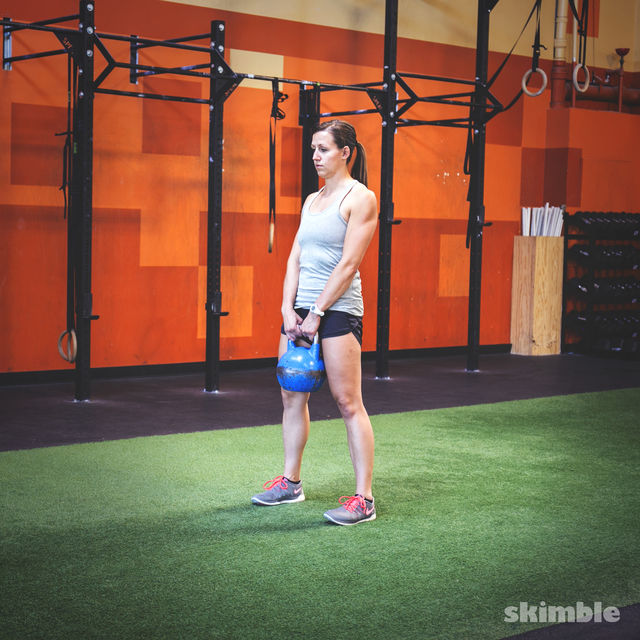 How to do: Kettlebell Deadlifts - Step 3