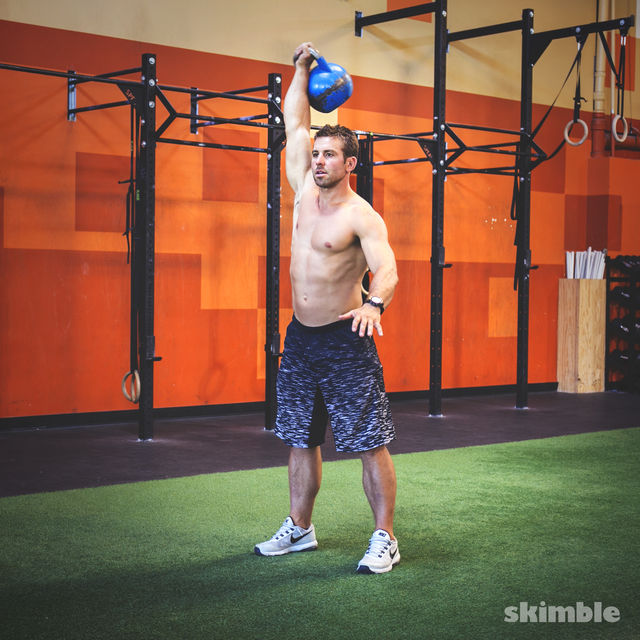 Jump & Shred 4 (Kettlebell)