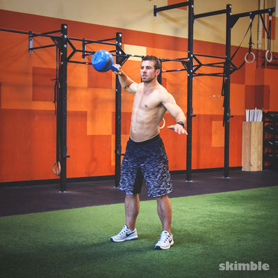 Left Kettlebell Snatch