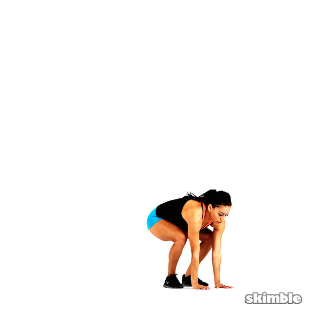 How to do: Modified Burpees - Step 2