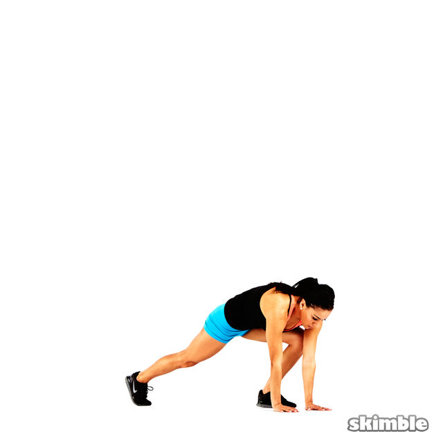 How to do: Modified Burpees - Step 3