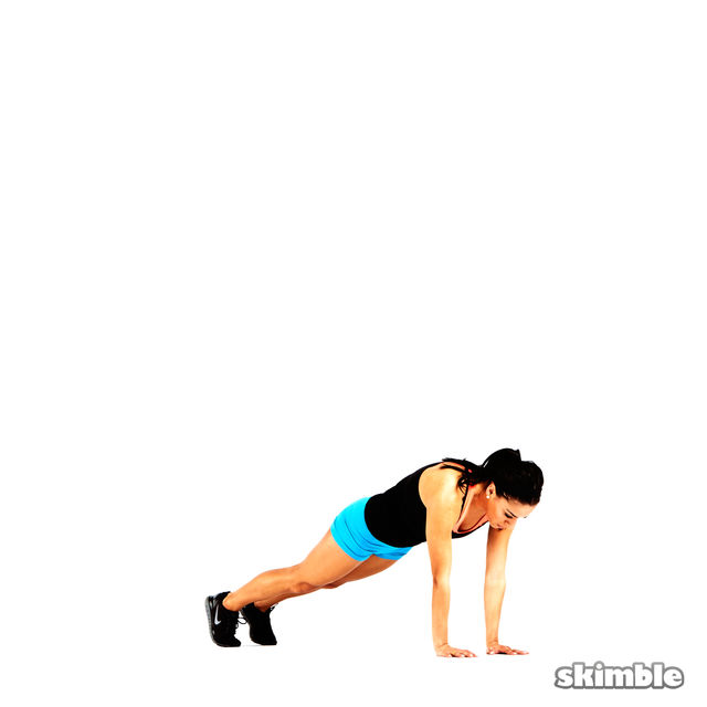 How to do: Modified Burpees - Step 4