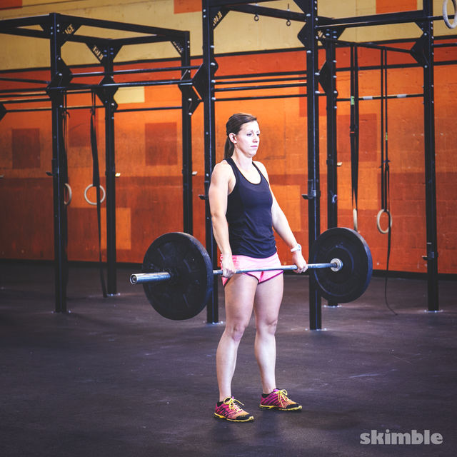 How to do: Barbell Cleans - Step 5