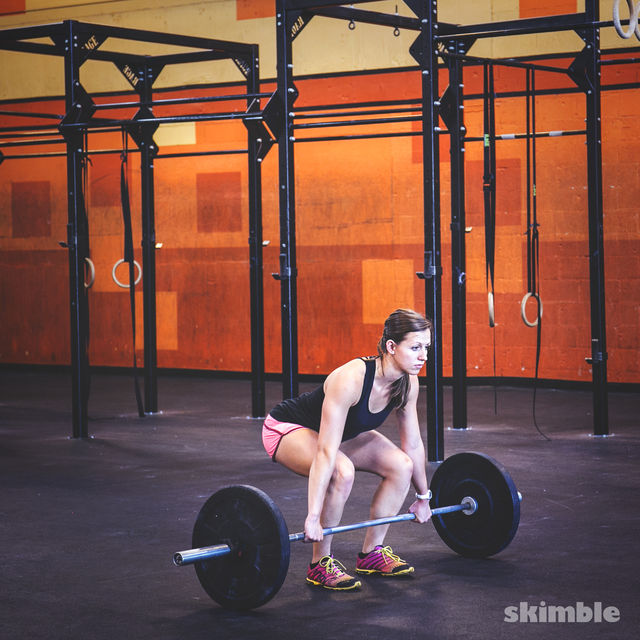 How to do: Barbell Cleans - Step 1