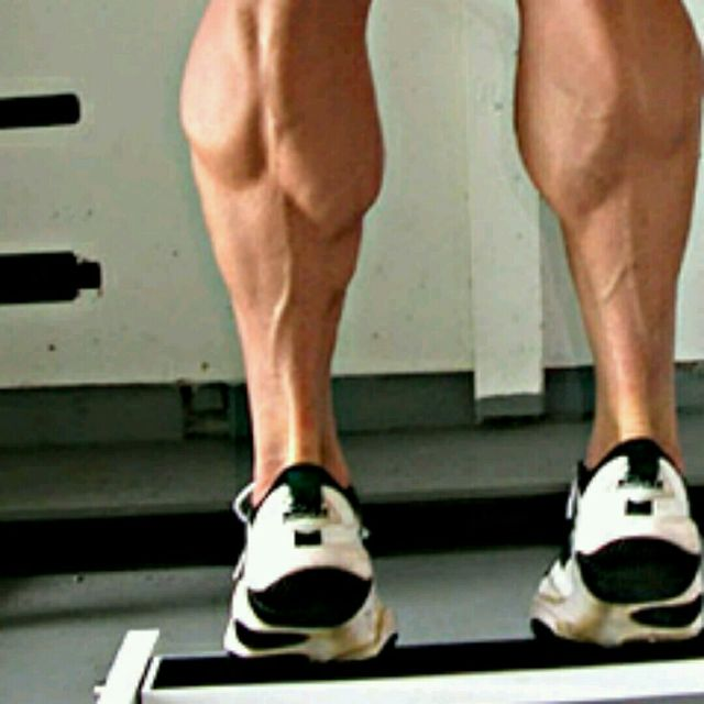 How to do: Standing Calf Raise - Step 1