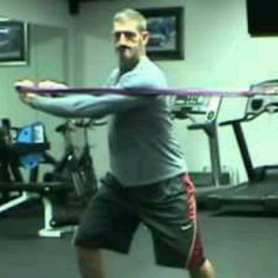 Torso Twist with Resistance Band