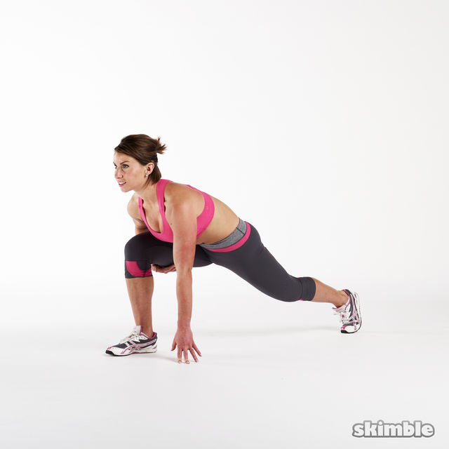How to do: Runners Lunges - Step 1