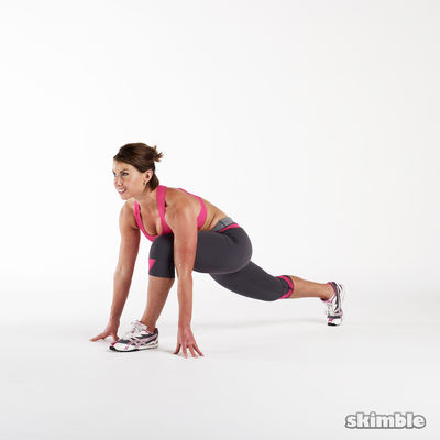 Alternating Runners Lunges