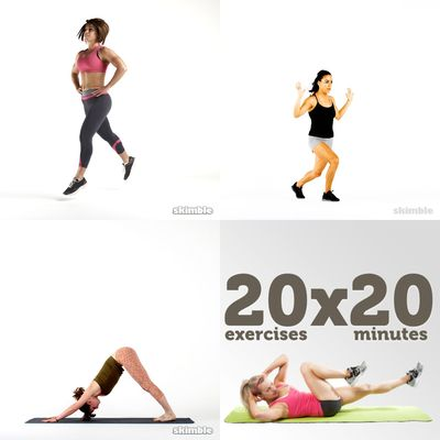 workouts for challenge