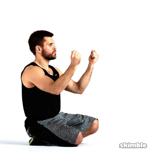 How to do: Outward Wrist Circles - Step 2