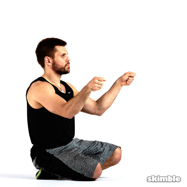 How to do: Outward Wrist Circles - Step 3