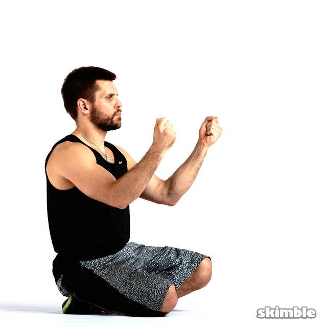 How to do: Outward Wrist Circles - Step 4