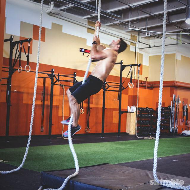 How to do: L Rope Climb - Step 2