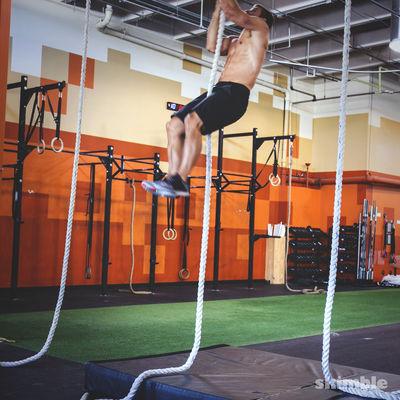 L Rope Climb