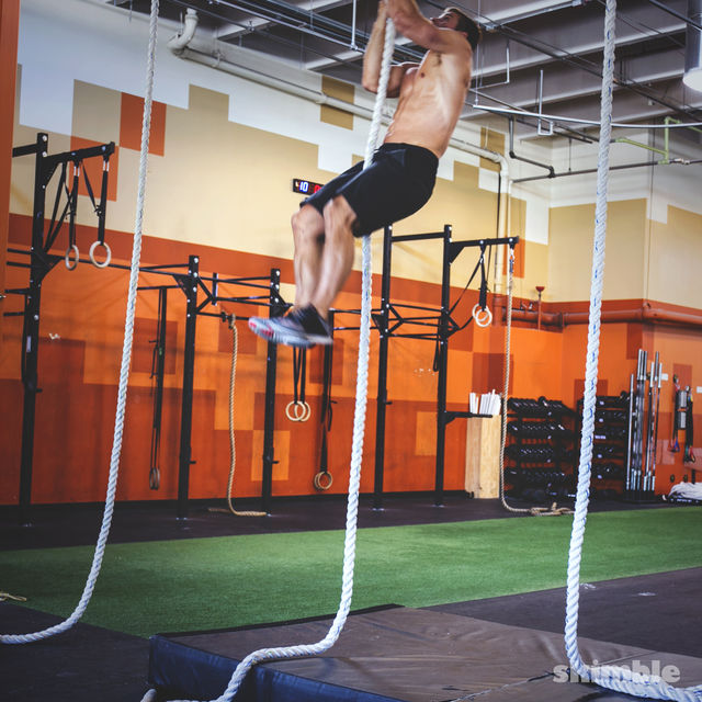 How to do: L Rope Climb - Step 3