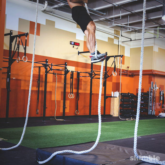 How to do: Rope Climb - Step 4