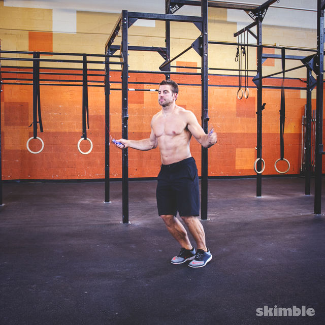How to do: Jump Rope with Lateral Hops - Step 2