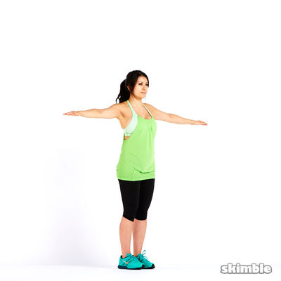 Small Reverse Arm Circles
