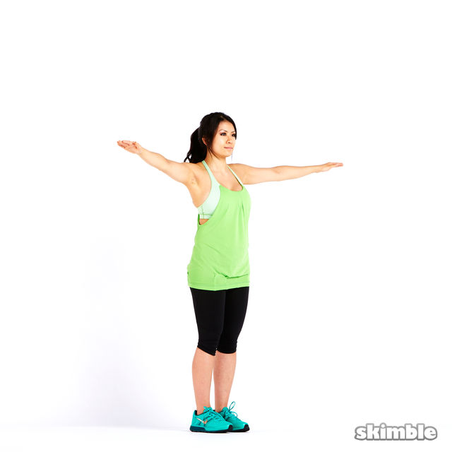 How to do: Small Reverse Arm Circles - Step 4