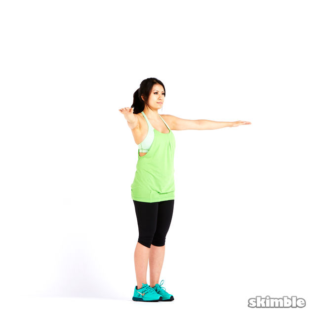 How to do: Small Reverse Arm Circles - Step 3